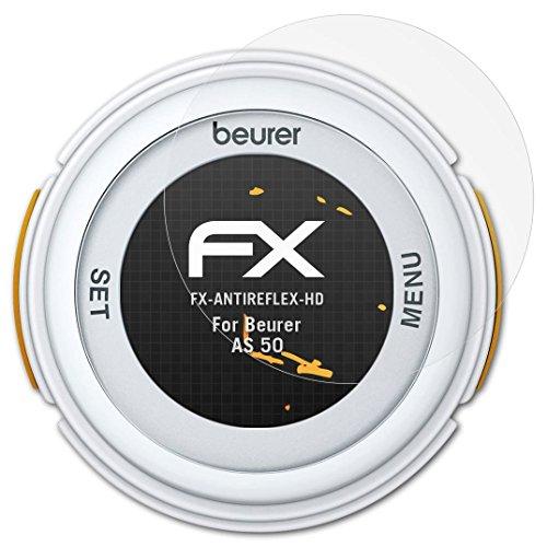 atFoliX Schutzfolie kompatibel mit Beurer AS 50 Bildschirmschutzfolie, HD-Entspiegelung FX Folie (3X)