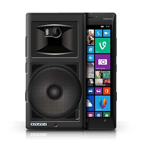 Kobalt® Imprimé Etui / Coque pour Nokia Lumia 930 / Amplificateur conception / Série Haut-Parleur dessin Moniteur Studio