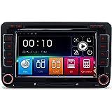 W7 A-Sure 8 Zoll 2 Din 3G DAB+ Autoradio Navi DVD GPS VMCD Bluetooth TMC FM Radio RDS Für VW Passat Golf 5 6 Touran Tiguan Transporter Multivan T5 Polo Jetta Caddy Skoda Seat Altea