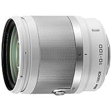 Nikon 1 Nikkor 10-100mm f/4.5-5.6 VR - Objetivo para Nikon (distancia focal fija 100mm, apertura f/1.4 f stop-16, estabilizador), blanco
