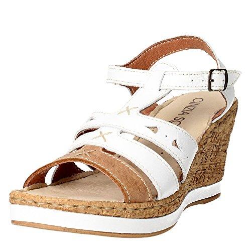 Cinzia Soft IAR 15101 001 Sandalo Donna Bianco