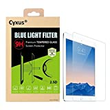 yxus filtro de luz azul pantalla bloqueo uv [mejor sueño] ultra HD 9H protector de pantalla de vidrio temperado para Apple iPad 1/2/3/4 (9,7 pulgada)