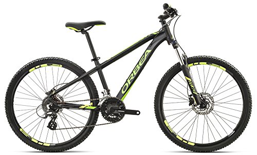 Orbea MX 26 Zoll XC Kinder Fahrrad 8 Gang MTB Rad Aluminium Mountain Bike, I024, Farbe schwarz