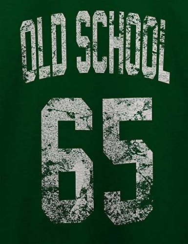 Oldschool 1965 T-Shirt Dunkel Grün