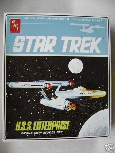 1968 Original Issue Star Trek U.S.S. Enterprise Space Ship Model Kit By Amt by Star Trek