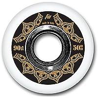 FreeWheeling 4-Pack Ruedas para Patines en Línea o Skateboard Aggressive 50mm 1117577