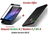 #9: RidivishN (COMBO OFFER) Xiaomi Redmi 4 / Redmi 4 / Mi 4 / Redmi4 / Mi4 All Sides Protection