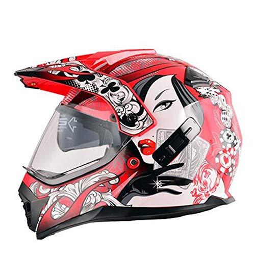 Casco Capacetes Casco moto ATV Casco moto Cross Downhill Casco moto off road DOTo 1 M
