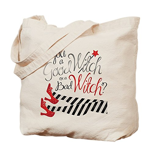 CafePress-Gut oder schlecht Hexe-Leinwand Natur Tasche, Reinigungstuch Einkaufstasche, canvas, khaki, M