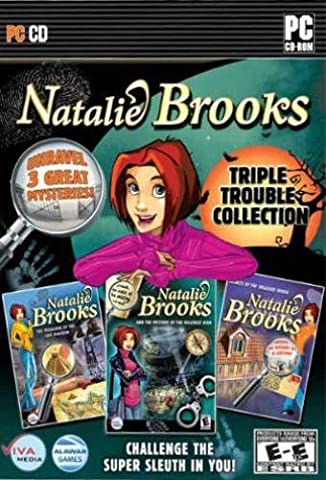 Natalie Brooks: Triple Touble Collection - Treasures Of The Lost Kingdom / Mystery Of The Hillcrest High / Secrets Of The Treasure House (anglais)