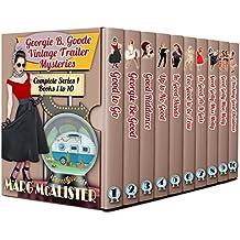 The Georgie B. Goode Vintage Trailer Mysteries Books 1-10 (English Edition)