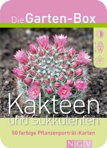 Preisvergleich Produktbild Kakteen und Sukkulenten. Die Garten-Box. 50 farbige Pflanzenporträt-Karten