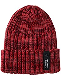 WITHMOONS Gorros de punto Knitted Beanie Hat Jean-Michel Basquiat Crown Slouchy CR5852
