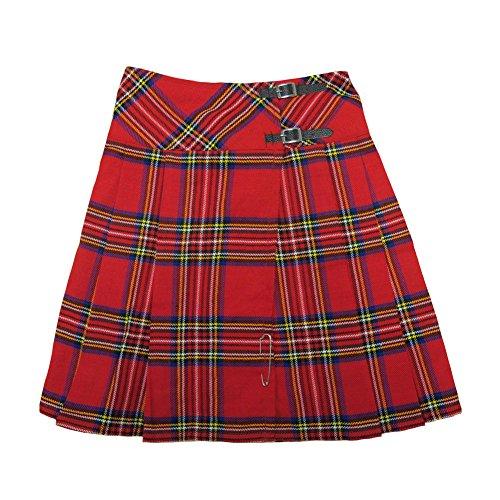 Scottish Women's Kostüm - Tartanista - Damen Wickel-Kilt - lang - 58 cm (23