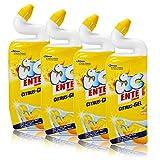 4x WC Ente Citrus-Gel WC Reiniger Citrus 750 ml