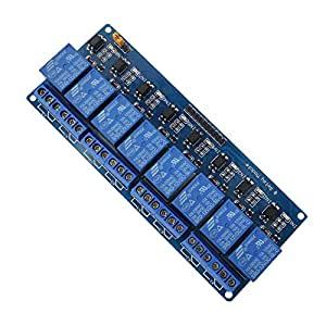 UG LAND INDIA 12V 8-Channel Relay Module for Arduino UNO 2560 1280 ARM PIC AVR STM