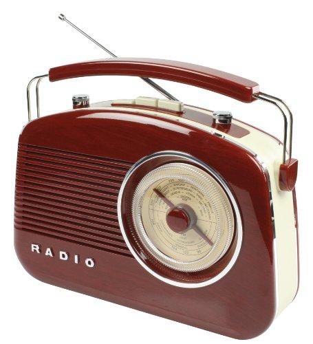 König HAV-TR700BR Retrodesign UKW/MW-Radio - 2