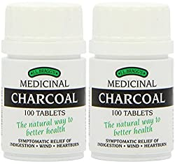 (2 Pack) - Braggs Medicinal Charcoal Tablets | 100s | 2 Pack - Super Saver - Save Money