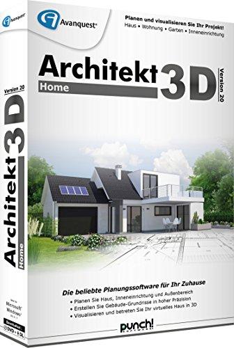 Architekt 3D 20 Home (Modellierung Dvd)