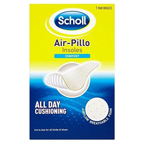 Groceries Scholl Air-Pillo Comfort Einlegesohlen - Packung mit 6