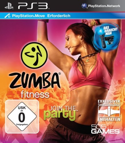Zumba Fitness - Join the Party (inkl. Fitness-Gürtel, Move erforderlich)