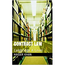 Contract Law: Cambridge A-Level (English Edition)