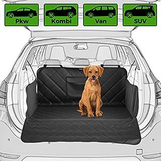 BELISY Universal Kofferraumschutz für Hunde - mit Seiten- & Ladenkantenschutz Kofferraummatte - rutschfest