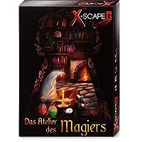 X-SCAPE-Das-Atelier-des-Magiers-Escape-Room-Spiel-fr-1-5-Spieler-ab-12-Jahren-Level-Fortgeschrittene