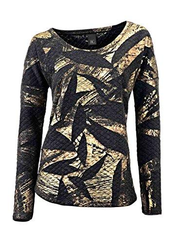 Heine - Best Connections Damen-Shirt Sweatshirt Mehrfarbig Größe 44/46