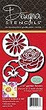 Designer Stencils C737 Garten-Blumen-Plätzchen-Schablonen, (Rose, Pansy Und Gänseblümchen)