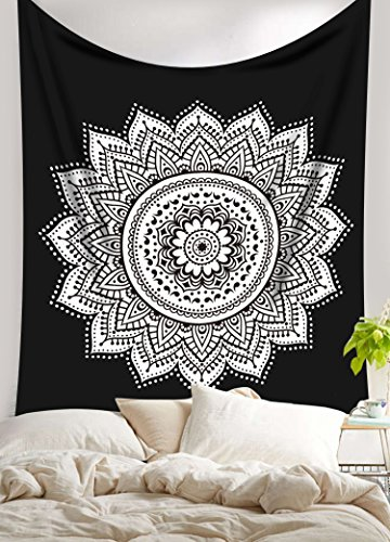 exclusivo-blanco-negro-ombre-mandala-tapestryby-labhanshi-bohemia-colgante-de-pared-pared-tapices