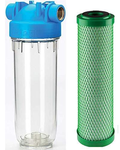 Accesorios y herramientas de fontanería DP Trio 20RL de FA de CB Juego 1Casa filtro de agua cal copos cloro pesticidas aromas