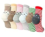 Damen Socken aus Baumwolle Witzige Socken Karikatur Tier Socken Niedliche Tiere Socken Bunt Muster Socken