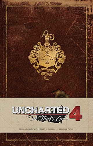 UNCHARTED HARDCOVER RULED