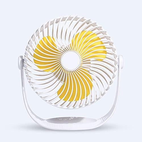 HLJ.SUN Mini Ventilatore, Ventilatore da Tavolo, Ventilatore Personale Portatile USB, circolatore d\'Aria, per Il Campeggio dell\'ufficio di Tapis roulant del passeggiatore