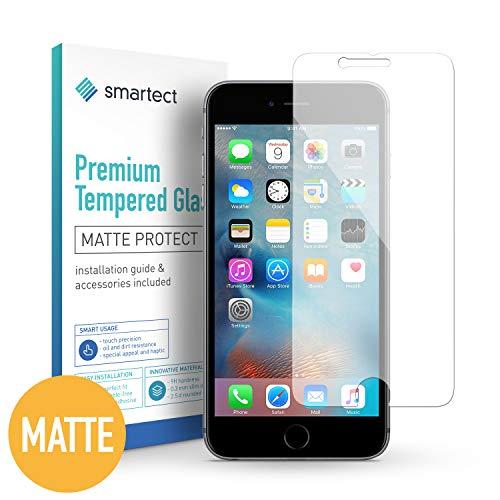 smartect Mattes Panzerglas für iPhone 6 / 6s [2X MATT] - Displayschutz mit 9H Härte - Blasenfreie Schutzfolie - Anti Fingerprint Panzerglasfolie