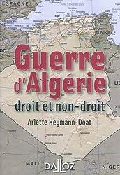 Guerre d'Algérie : droit et non-droit - 1ère édition