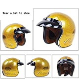 Homesave Casque De Sécurité Équitation Casque De Protection Multi Color Et Size Détachable,Yellow,M