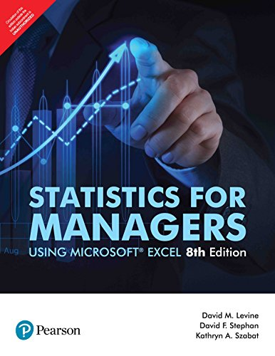 Statistics for Managers, Using Microsoft Excel