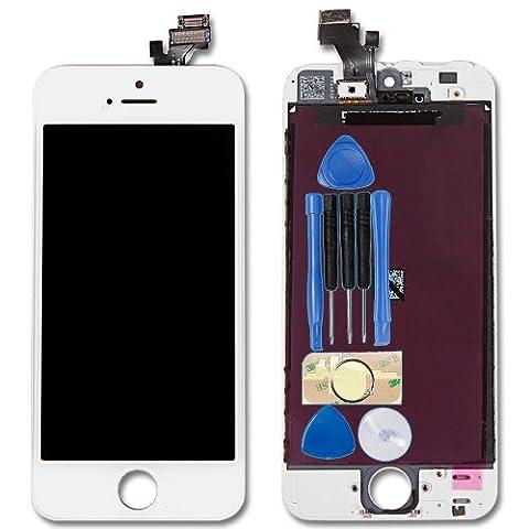 Phonescreentrader Écran LCD tactile de remplacement avec outils et adhésif