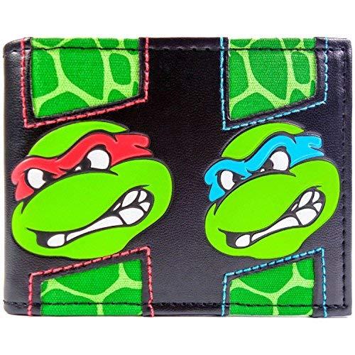 t Ninja Turtles vielen Gesichter Mehrfarbig Portemonnaie Geldbörse ()