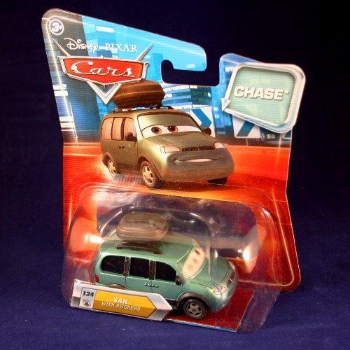 VAN WITH STICKERS #124 w/ Lenticular Eyes Disney / Pixar CARS 1:55 Scale Die-Cast Vehicle by Disney
