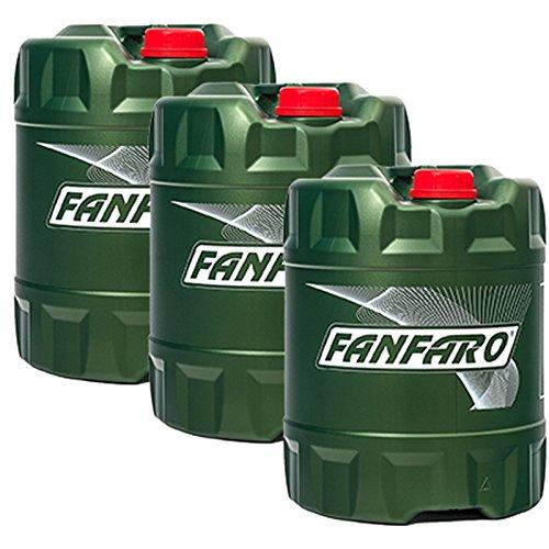 3x20 Liter [60L] FANFARO Kettenöl Kettenhaftöl für Motorsägen Mineralölbasis