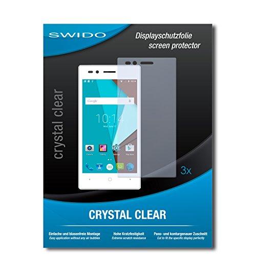 SWIDO Bildschirmschutzfolie für Siswoo A4+ [3 Stück] Kristall-Klar, Extrem Kratzfest, Schutz vor Öl, Staub & Kratzer/Glasfolie, Bildschirmschutz, Schutzfolie, Panzerfolie
