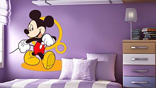 Mickey Maus-Wand-Aufkleber-Dekor-Abziehbild-Kunst für Kinderzimmer-Kinderzimmer