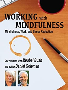 Working with Mindfulness: Mindfulness, Work, and Stress Reduction (Working with Mindfulness: Research and Practice of Mindfull Techniques in Organizations Book 2) (English Edition) par [Bush, Mirabai, Goleman, Daniel]
