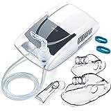 Sanitas SIH 21 Inhalator mit Kompressor-Drucklufttechnologie, Behandlung von Atemwegserkrankungen wie Erkältungen, Bronchitis