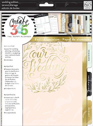 Me & My Big Ideas, Happy Planner, Estensione da 365 Giorni per organizzare Il Matrimonio