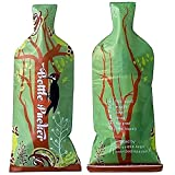 Reusable Wine Bottle Protector or Gift Bag (3 Pack) with Inner Skin and Extra Tough, Leakproof Outer