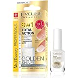 Eve Line 8 in1 total Action uñas Conditioner con partículas de oro, 12 ml